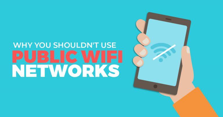 Por que não se deve usar as redes WiFi públicas