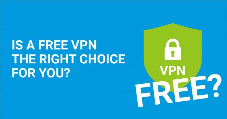 Talvez seja melhor usar uma VPN gratuita