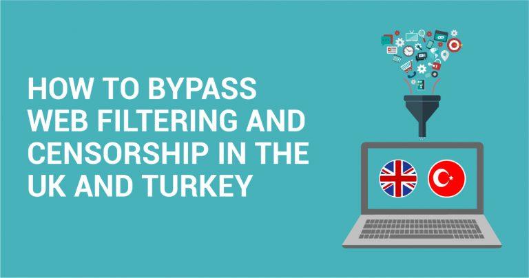 Como burlar as restrições e a censura da Internet no Reino Unido e na Turquia
