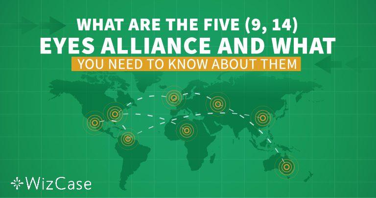 Entenda a Aliança dos Cinco, Nove e 14 Olhos antes de escolher qualquer VPN!