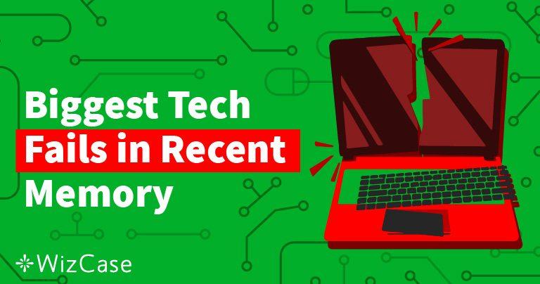 Os 100 maiores fails de tecnologia desde 2011
