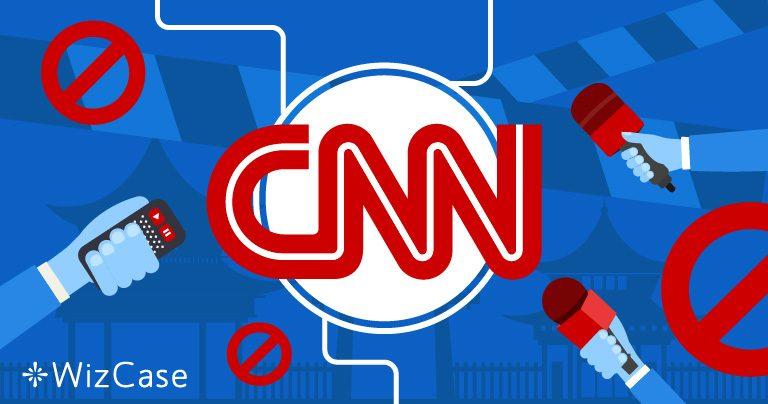 A CNN é bloqueada na China. Veja como assistir forma segura