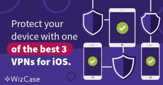 3 melhores VPNs para iOS Wizcase