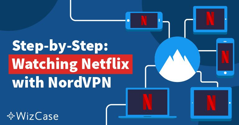 Testado em 2021: a NordVPN funciona com a Netflix dos EUA e outros países