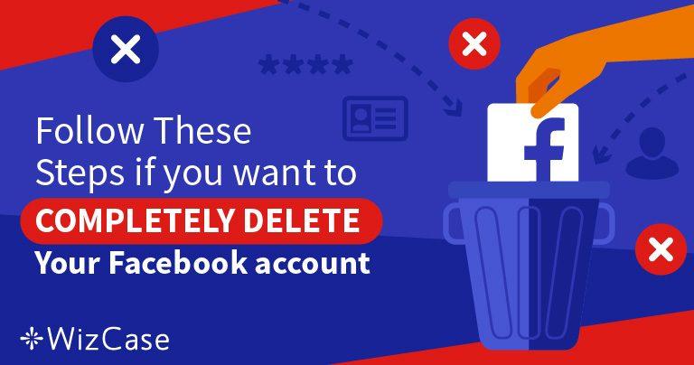 5 etapas para excluir 100% dos seus dados da sua conta do Facebook