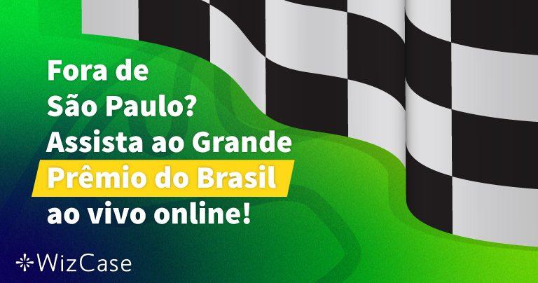 Fora de São Paulo? Assista ao Grande Prêmio do Brasil ao vivo online!