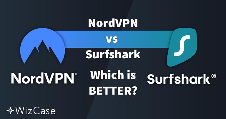 NordVPN vs. Surfshark: 13 testes comparativos, 1 vencedor em 2021